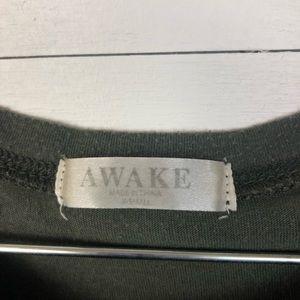Awake Military Green T-Shirt.